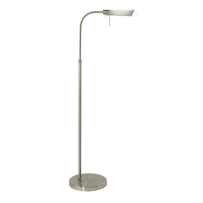 Sonneman 7005 Tenda 1 Light Swing Arm Floor Lamp Satin Nickel Lamps Sale $240.00 ITEM#: 525561 MODEL# :7005.13 UPC#: 872681007797 :
