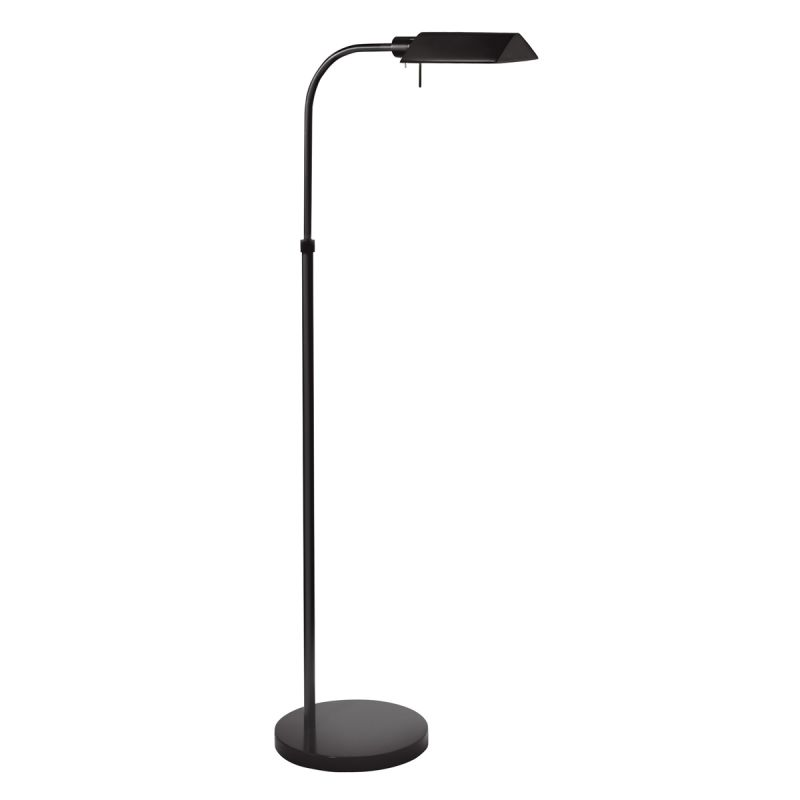 Sonneman 7005 Tenda 1 Light Swing Arm Floor Lamp Satin Black Lamps Sale $240.00 ITEM#: 525562 MODEL# :7005.25 UPC#: 872681009210 :