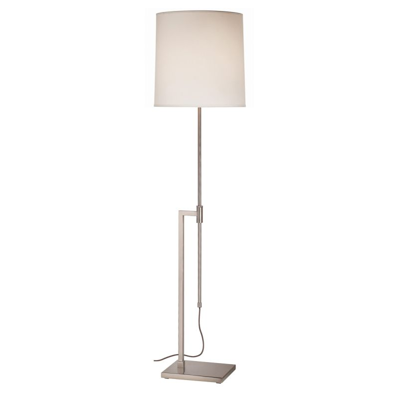 Sonneman 7008 Palo 1 Light Floor Lamp with Cream Shade Satin Nickel Sale $400.00 ITEM#: 524258 MODEL# :7008.13 UPC#: 872681009111 :
