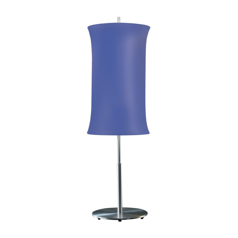 "Sonneman 3131.10 Lightweights 2 Light 33"" Height Table Lamp Blue Shade"