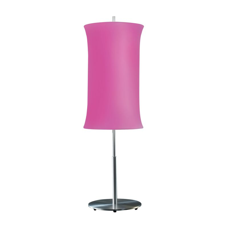 "Sonneman 3131.10 Lightweights 2 Light 33"" Height Table Lamp Fuschia"