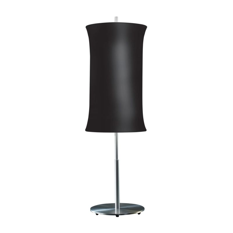 "Sonneman 3131.10 Lightweights 2 Light 33"" Height Table Lamp Black"