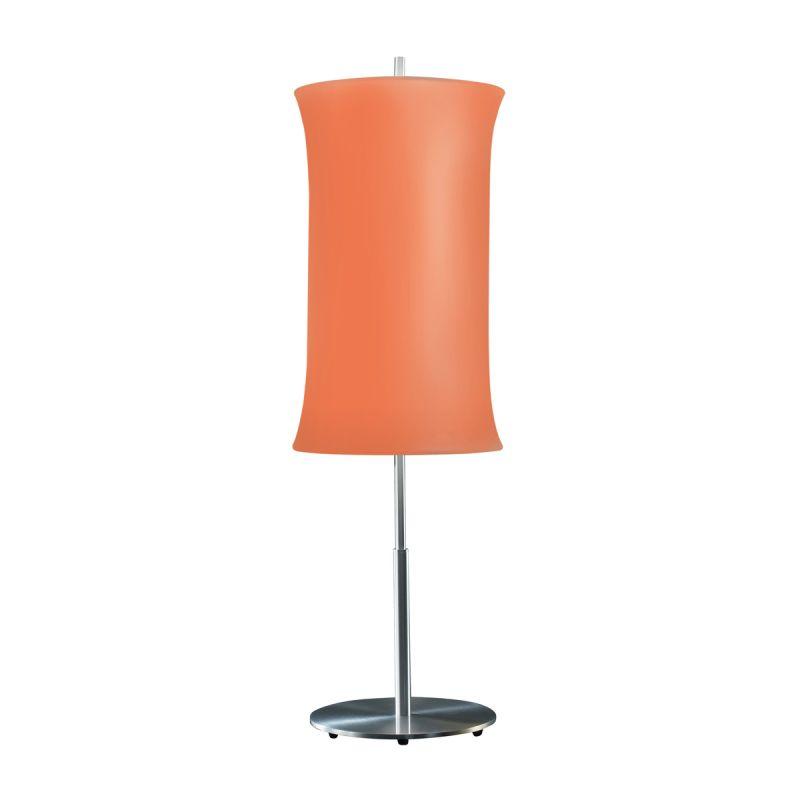 "Sonneman 3131.10 Lightweights 2 Light 33"" Height Table Lamp Orange"