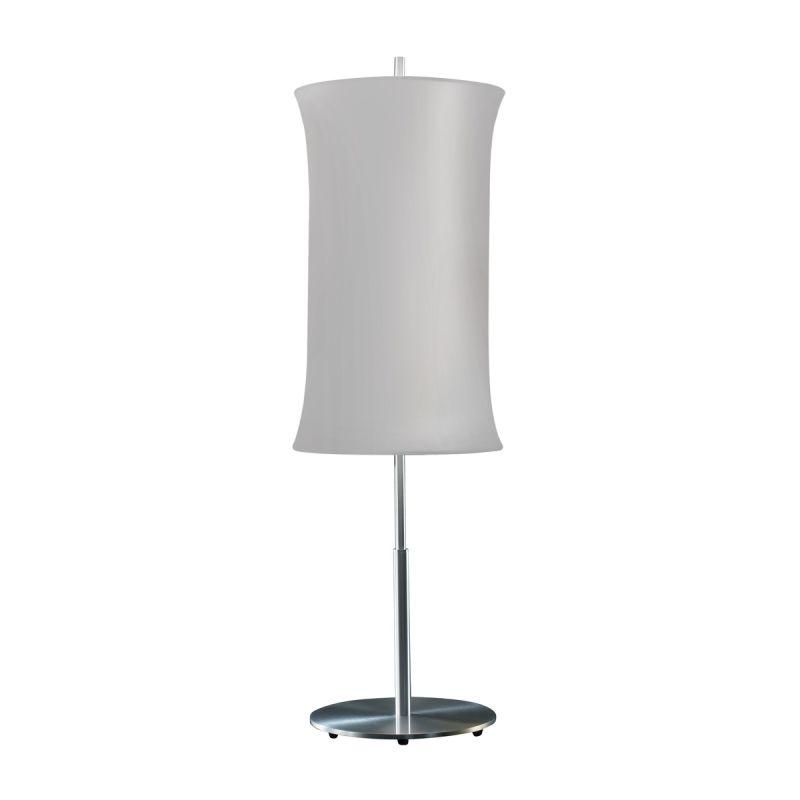 "Sonneman 3131.10 Lightweights 2 Light 33"" Height Table Lamp Silver"
