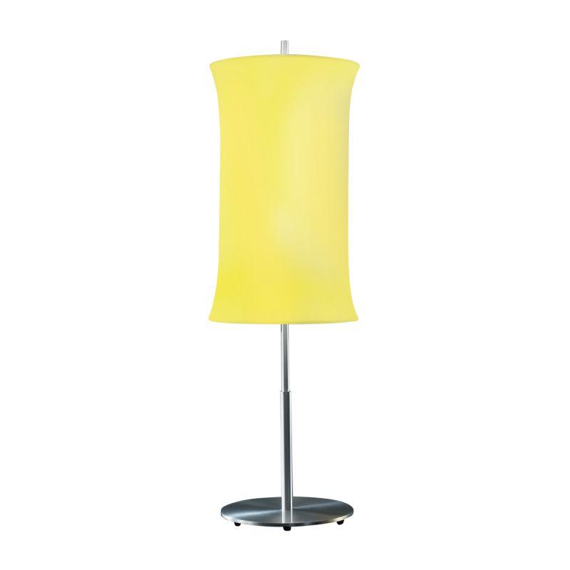 "Sonneman 3131.10 Lightweights 2 Light 33"" Height Table Lamp Yellow"