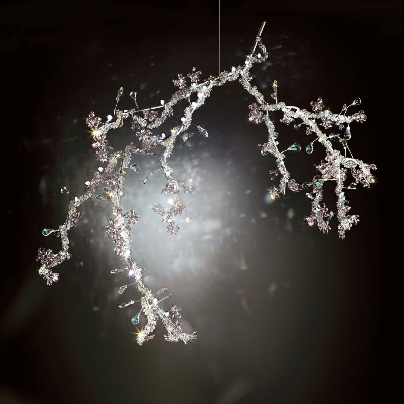 "Swarovski Blossom CPBU165 Blossom Single Light 65"" Wide 6500K LED Sale $39505.00 ITEM#: 2957138 MODEL# :CPBU165O :"