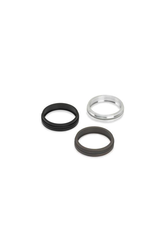 Tech Lighting 700A011 MR11 Single Louver Lens Holder Black Accessory