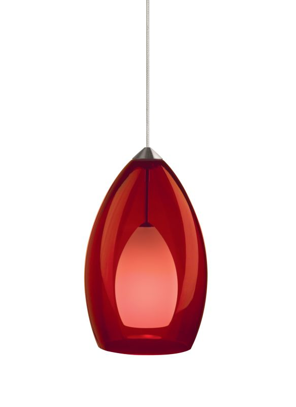 Tech Lighting 700FJFIRR FreeJack Fire Translucent Red Murano Glass Sale $300.80 ITEM#: 827052 MODEL# :700FJFIRRS UPC#: 756460566579 :