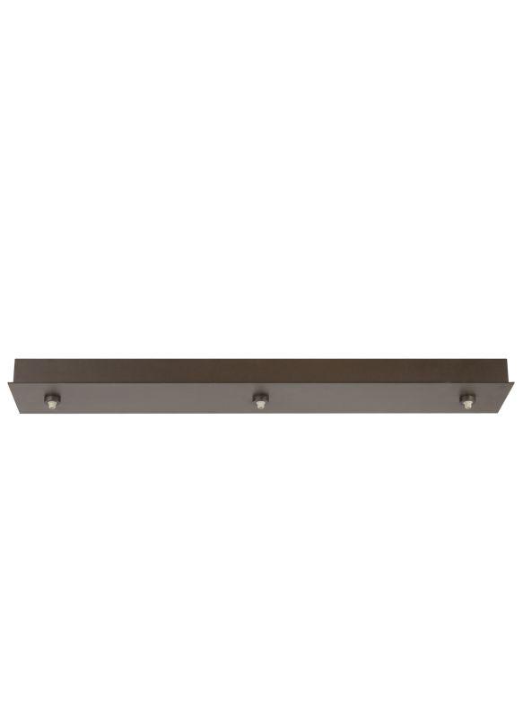 """Tech Lighting 700FJL3-LED FreeJack Linear 3 Port LED Canopy - 120v In Sale $243.20 ITEM#: 2363715 MODEL# :700FJL3C-LED UPC#: 884655043939 Specifications: Voltage: 12 Height: 4.5"""" Width: 28.5"""" ADA: No :"""
