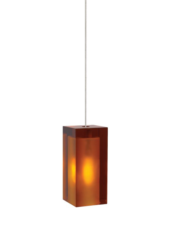 Tech Lighting 700FJSLDA FreeJack Solitude Amber Rectangular Pressed