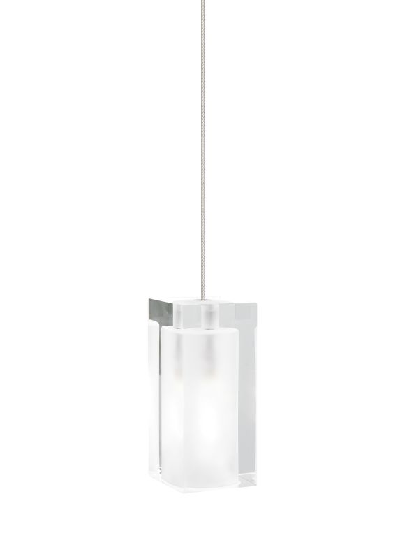 Tech Lighting 700FJSLDF FreeJack Solitude Frost Rectangular Pressed