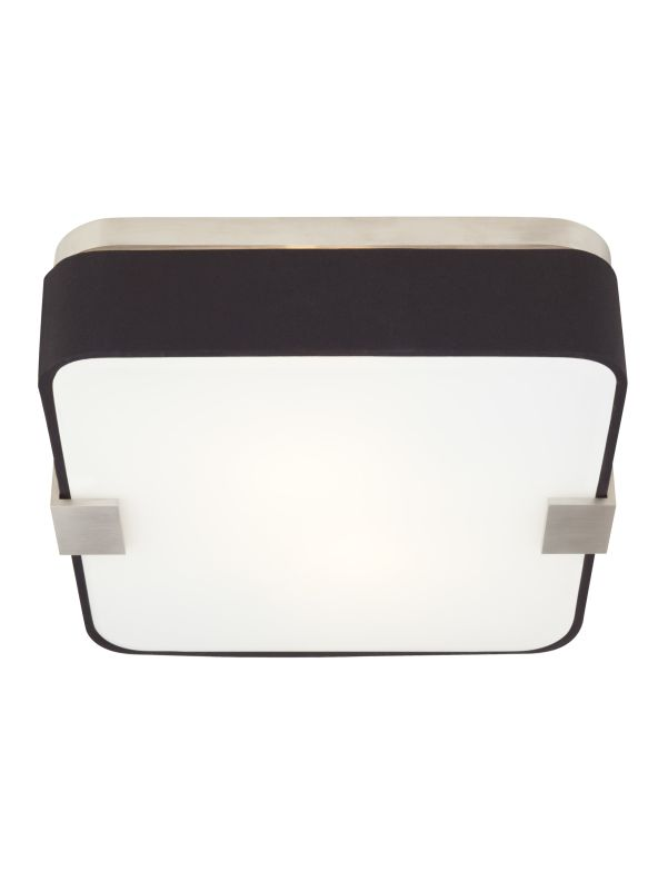 Tech Lighting 700FMPRVFB Province 2 Light Black Fabric Square Flush Sale $392.00 ITEM#: 2303147 MODEL# :700FMPRVFBS UPC#: 884655237390 :