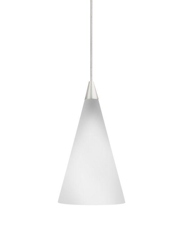 Tech Lighting 700KCONW Kable Lite White Glass Cone Pendant - 12v Sale $223.20 ITEM#: 826345 MODEL# :700KCONWC UPC#: 756460578954 :