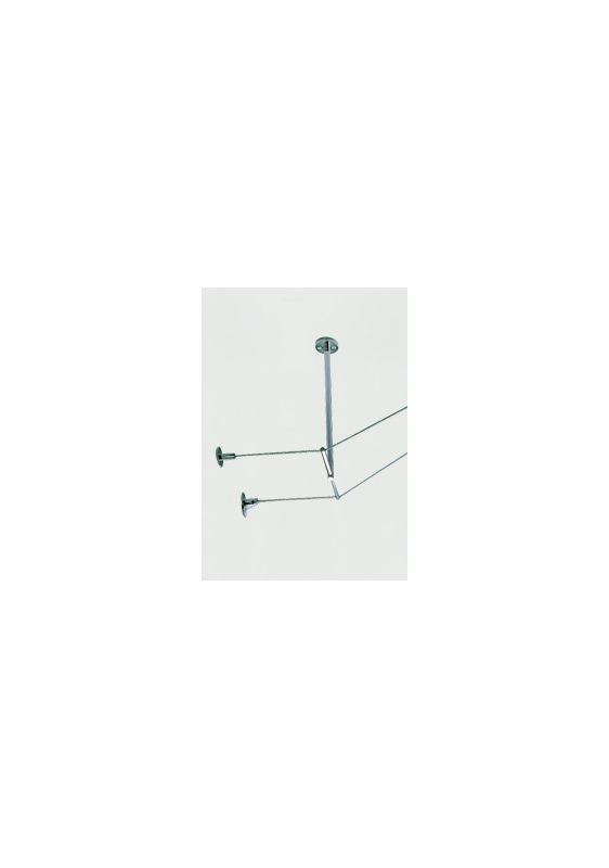 """Tech Lighting 700KTSO0505 Kable Lite Rigid T Standoff with 5"""" Drop and"""
