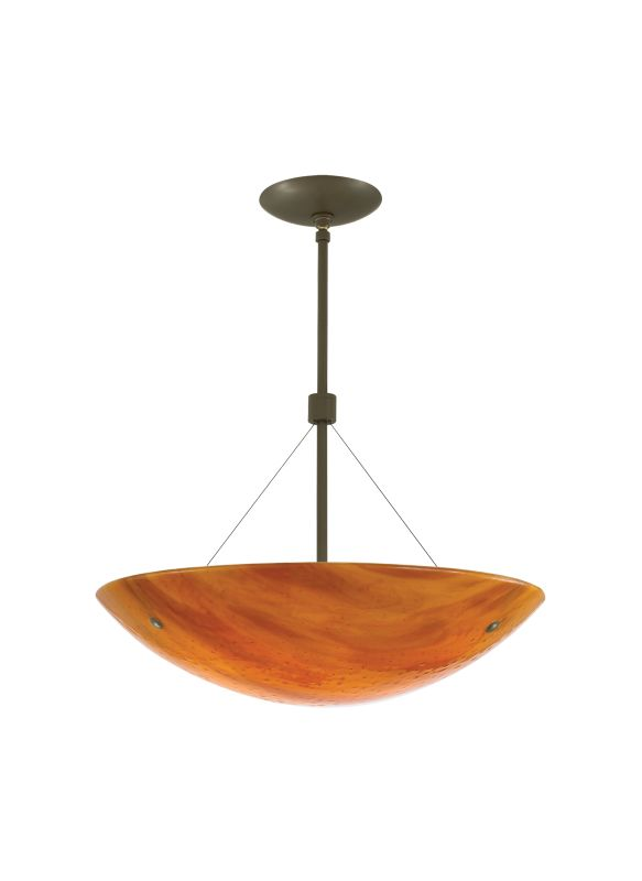 "Tech Lighting 700LRKS1924A Larkspur Suspension 24"" Length Slumped"