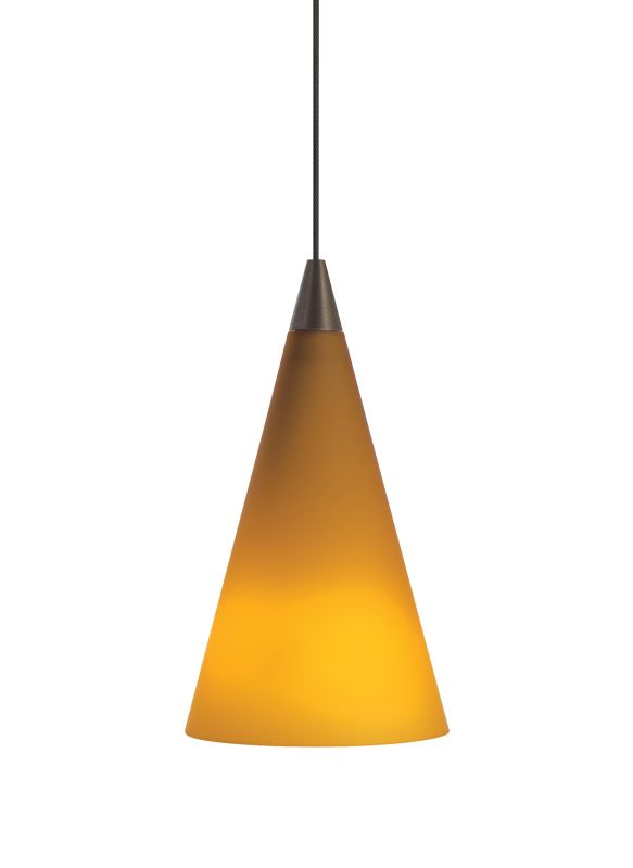 Tech Lighting 700MO2CONA Two-Circuit MonoRail Amber Glass Cone Pendant Sale $219.20 ITEM#: 827867 MODEL# :700MO2CONAC UPC#: 756460839741 :