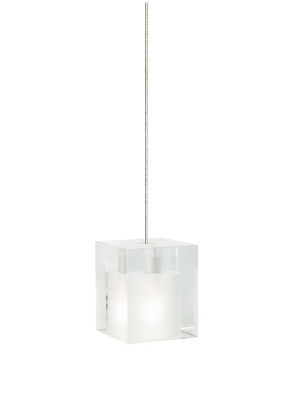 Tech Lighting 700MOCUBF MonoRail Frost Cube Glass Pendant - 12v Sale $198.40 ITEM#: 828268 MODEL# :700MOCUBFS UPC#: 756460846169 :