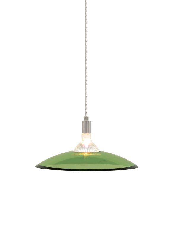 Tech Lighting 700MODIZV MonoRail Diz Olive Green Slumped Glass Plate
