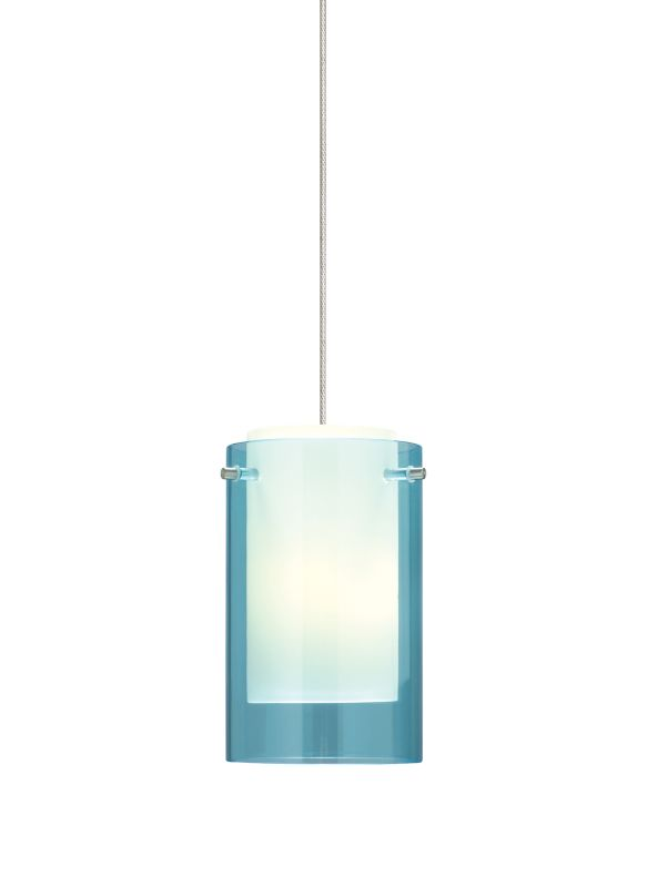 Tech Lighting 700MOECPQ MonoRail Mini Echo Aquamarine Glass Sale $317.60 ITEM#: 828387 MODEL# :700MOECPQS UPC#: 756460828578 :