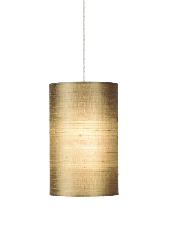 Tech Lighting 700MOFABA MonoRail Fab Almond Indian Silk Shade Pendant Sale $260.00 ITEM#: 828668 MODEL# :700MOFABAZ UPC#: 756460944230 :