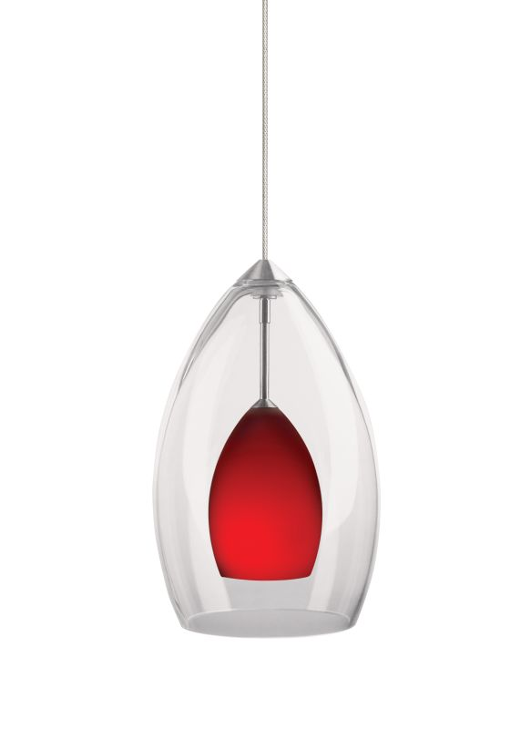 Tech Lighting 700MOFIRCR MonoRail Inner Fire Red Raindrop Glass Sale $317.60 ITEM#: 827666 MODEL# :700MOFIRCRC UPC#: 756460625306 :