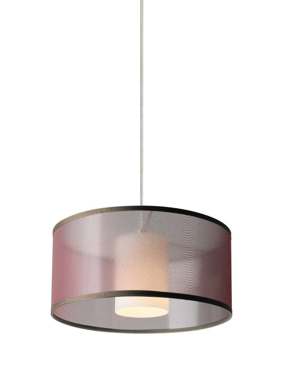 Tech Lighting 700MOMDLNWN-LED MonoRail Mini Dillon Brown Translucent