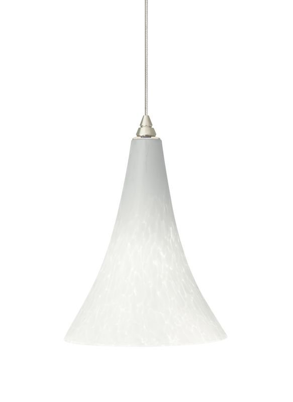 Tech Lighting 700MOMLPW MonoRail Melrose White Frit Layered Glass