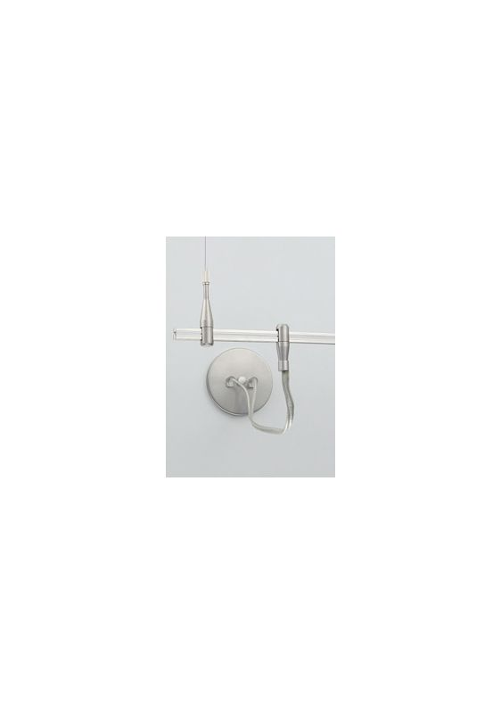 Tech Lighting 700MOPCEN4 MonoRail Center Dual Power Feed Satin Nickel