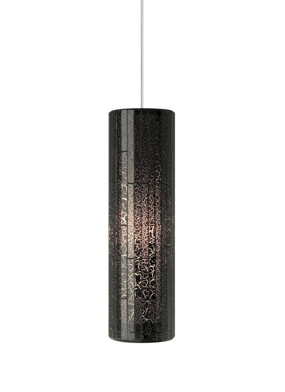 Tech Lighting 700MOPEYN MonoRail Peyton Brown Cylindrical Glass Mosaic