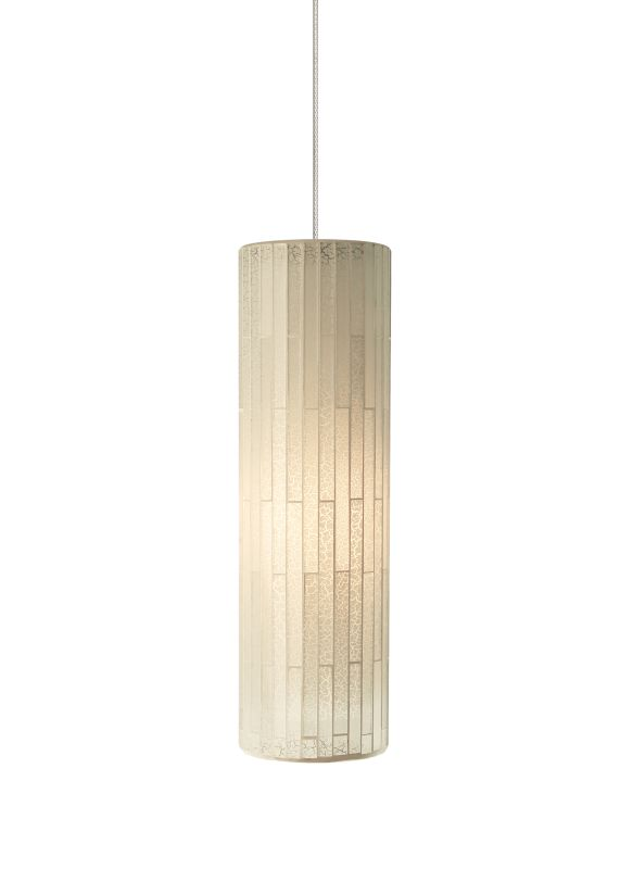 Tech Lighting 700MOPEYW MonoRail Peyton White Cylindrical Glass Mosaic Sale $268.00 ITEM#: 2262020 MODEL# :700MOPEYWZ UPC#: 884655082693 :