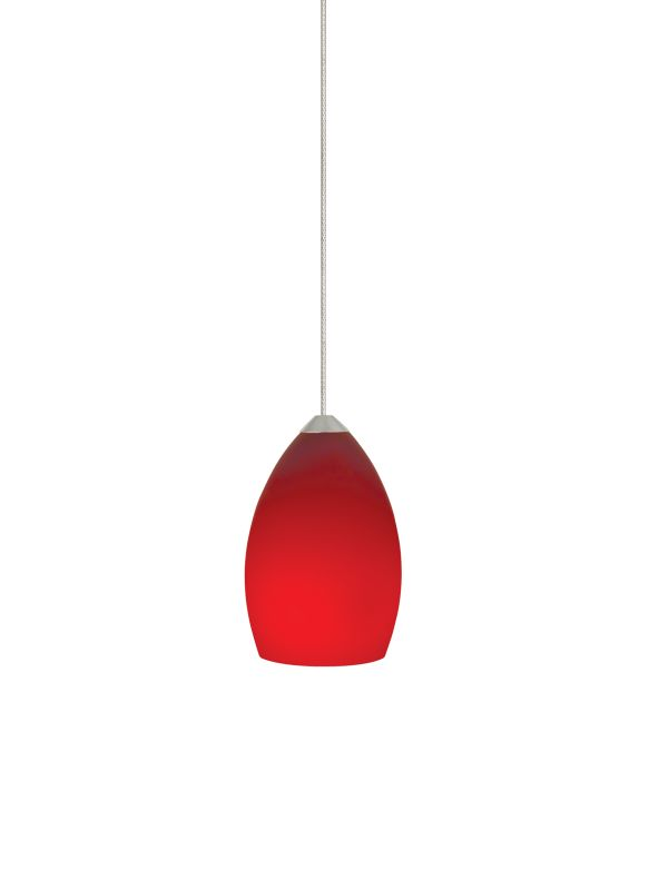 Tech Lighting 700MORDR MonoRail Red Raindrop Shaped Glass Pendant -12v Sale $157.60 ITEM#: 2262045 MODEL# :700MORDRS UPC#: 756460629526 :