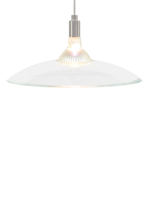 """Tech Lighting 700MPDIZC Diz 1 Light Monopoint Halogen 12v Bowl Shaped Sale $243.20 ITEM#: 2979831 MODEL# :700MPDIZCC UPC#: 884655155205 Features: Glass shade may be mounted up or downLamping Technology: Bulb Base - GY6.35: A bi pin or ' bipin socket', the GY6.35 has a pin spread of 6.35 mm and is used mostly with halogen bulbs common for task lighting and landscape lighting. Compatible Bulb Types: GY6.35 Bulb Base uses primarily a Halogen but is also compatible as LED and Xenon / Krypton.Specifications: Number of Bulbs: 1 Bulb Base: GY6.35 Bulb Type: Halogen Bulb Included: Yes Watts Per Bulb: 50 Wattage: 50 Voltage: 12 Height: 1"""" Width: 6.75"""" Energy Star: No ADA: No :"""