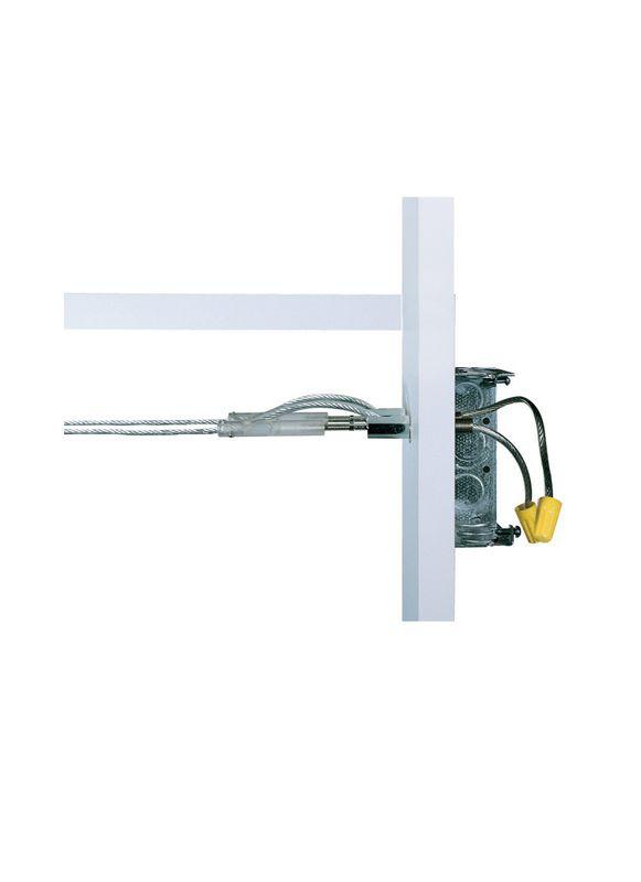 Tech Lighting 700PRC14 Kable Lite Power Feed Turnbuckles Chrome Indoor