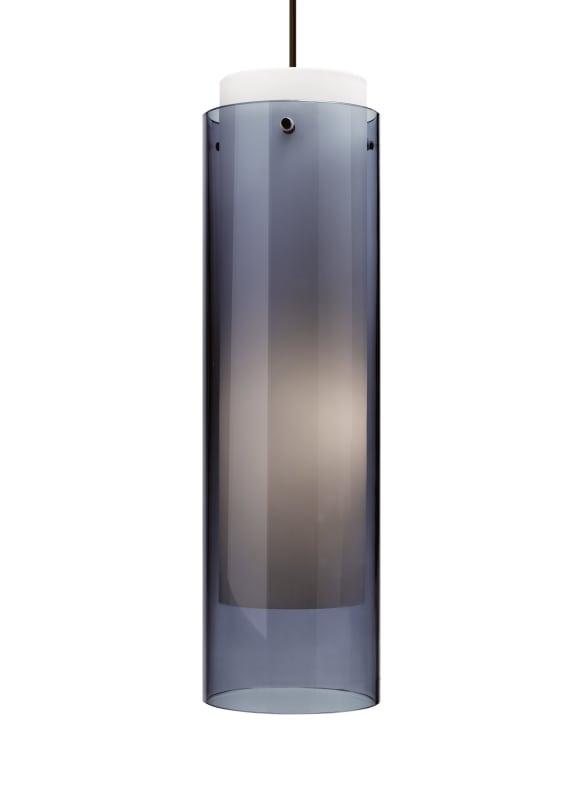 Tech Lighting 700TDECGPU Echo Grande Transparent Steel Blue Cylinder Sale $470.40 ITEM#: 2981012 MODEL# :700TDECGPUS UPC#: 884655121446 :