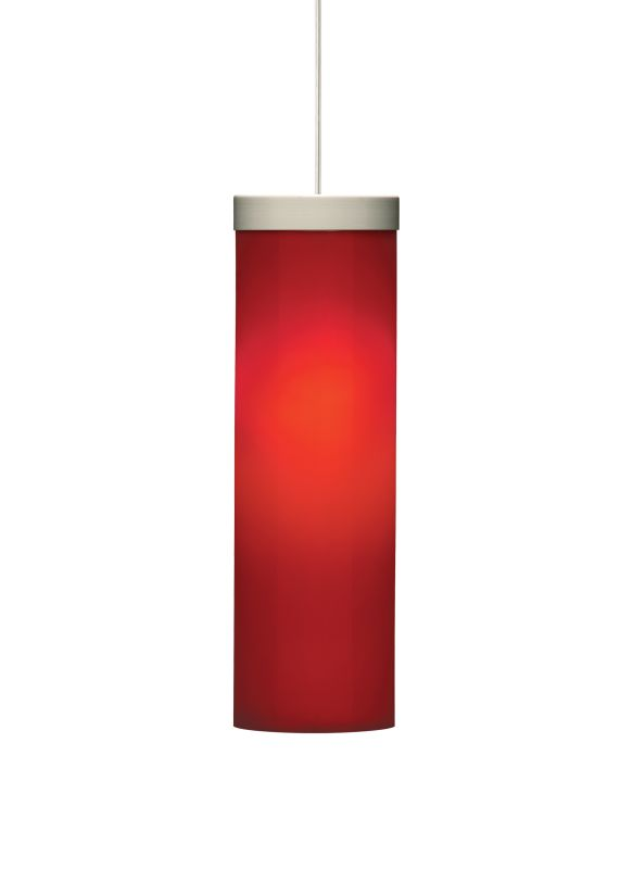 Tech Lighting 700TDHUDPR-CF Hudson Cylindrical Red Glass Line Voltage Sale $380.00 ITEM#: 2981240 MODEL# :700TDHUDPRS-CF UPC#: 756460383930 :