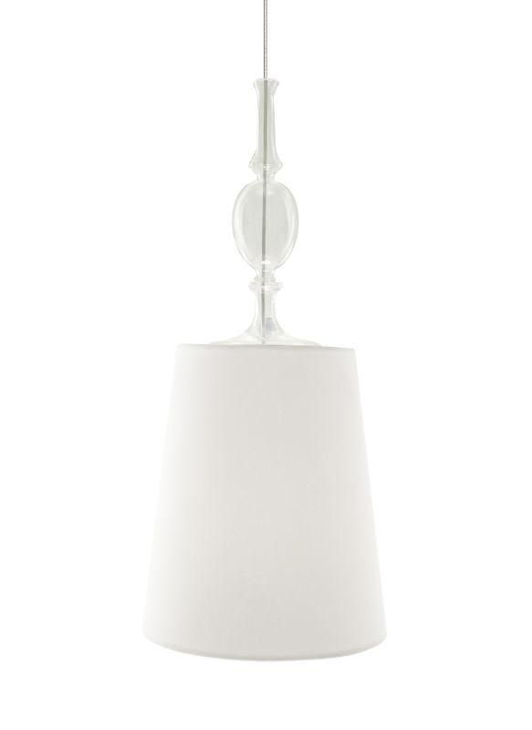 Tech Lighting 700TDKIELPWF-CF Kiev Large White Fabric Shade Line Sale $420.80 ITEM#: 2981345 MODEL# :700TDKIELPWFW-CF UPC#: 884655072243 :