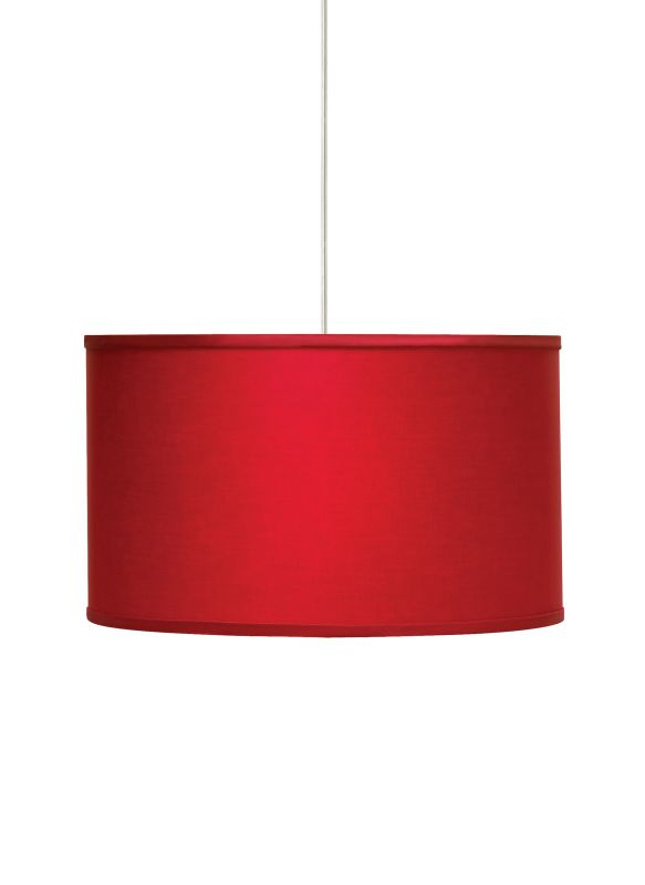 Tech Lighting 700TDLEXPR-CF Lexington Large Drum Shaped Red Fabric Sale $532.00 ITEM#: 2981399 MODEL# :700TDLEXPRB-CF UPC#: 756460385378 :