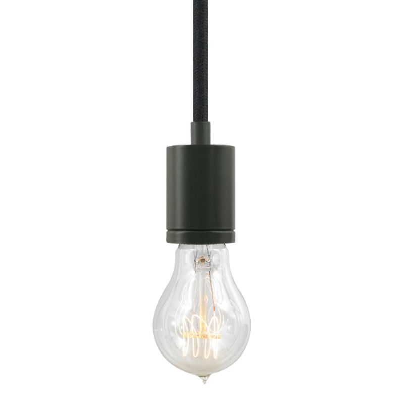"Tech Lighting 700TDSOCOPM24Z SoCo 1 Light Mini Pendant with Bronze Sale $132.00 ITEM#: 2541660 MODEL# :700TDSOCOPM24BZ UPC#: 884655286091 The SoCo system of Sockets & Cords delivers choice, flexibility and the power of custom design. The SoCo sockets accommodates any 120 volt, medium base lamp up to 150 watts (not included). We have made it easy to create your own look. Mix, match and cluster to create a truly unique light sculpture or just install a few at a time to put light exactly where you need it. Available in 2 socket styles, 3 standard lengths, 7 cord colors, and 4 finishes. Ships with matching canopy. Consult factory for custom cord colors and lengths. We stock and make it easy to order some of the most popular lamps including several energy efficient LED and compact fluorescent options. Features: Antique Bronze Modern Socket 24 Foot Fabric Cord Includes Round 4"" Flush Canopy ETL Listed for Damp Locations Compatible with any Medium Base lamp up to 150 Watts (Sold Separately) Specifications: Bulb Base: Medium (E26) Bulb Included: No Canopy Width: 4 Cord Length: 288 Dimmable: Yes ETL Listed: Yes ETL Rating: Damp Location Height: 2.25 Light Direction: Down Lighting Location Rating: Damp Location Material: Metal Maximum Height: 288 Number of Bulbs: 1 Pendant Type: Mini Shade: No Sloped Ceiling Compatible: Yes Voltage: 120 Watts Per Bulb: 150 Width: 1.68 Not sure what you need for your space? Call us to help you configure a lighting system that suits your needs, including multi-light canopies, swag hooks, custom cord colors and lengths. :"