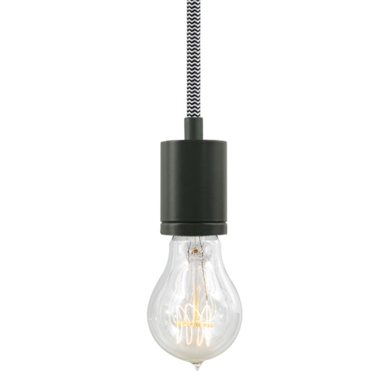 "Tech Lighting 700TDSOCOPM24Z SoCo 1 Light Mini Pendant with Bronze Sale $132.00 ITEM#: 2541664 MODEL# :700TDSOCOPM24IZ UPC#: 884655286107 The SoCo system of Sockets & Cords delivers choice, flexibility and the power of custom design. The SoCo sockets accommodates any 120 volt, medium base lamp up to 150 watts (not included). We have made it easy to create your own look. Mix, match and cluster to create a truly unique light sculpture or just install a few at a time to put light exactly where you need it. Available in 2 socket styles, 3 standard lengths, 7 cord colors, and 4 finishes. Ships with matching canopy. Consult factory for custom cord colors and lengths. We stock and make it easy to order some of the most popular lamps including several energy efficient LED and compact fluorescent options. Features: Antique Bronze Modern Socket 24 Foot Fabric Cord Includes Round 4"" Flush Canopy ETL Listed for Damp Locations Compatible with any Medium Base lamp up to 150 Watts (Sold Separately) Specifications: Bulb Base: Medium (E26) Bulb Included: No Canopy Width: 4 Cord Length: 288 Dimmable: Yes ETL Listed: Yes ETL Rating: Damp Location Height: 2.25 Light Direction: Down Lighting Location Rating: Damp Location Material: Metal Maximum Height: 288 Number of Bulbs: 1 Pendant Type: Mini Shade: No Sloped Ceiling Compatible: Yes Voltage: 120 Watts Per Bulb: 150 Width: 1.68 Not sure what you need for your space? Call us to help you configure a lighting system that suits your needs, including multi-light canopies, swag hooks, custom cord colors and lengths. :"