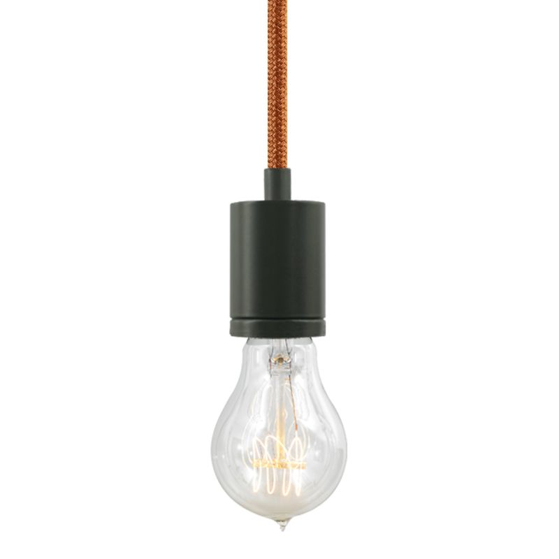 "Tech Lighting 700TDSOCOPM24Z SoCo 1 Light Mini Pendant with Bronze Sale $132.00 ITEM#: 2541676 MODEL# :700TDSOCOPM24PZ UPC#: 884655371308 The SoCo system of Sockets & Cords delivers choice, flexibility and the power of custom design. The SoCo sockets accommodates any 120 volt, medium base lamp up to 150 watts (not included). We have made it easy to create your own look. Mix, match and cluster to create a truly unique light sculpture or just install a few at a time to put light exactly where you need it. Available in 2 socket styles, 3 standard lengths, 7 cord colors, and 4 finishes. Ships with matching canopy. Consult factory for custom cord colors and lengths. We stock and make it easy to order some of the most popular lamps including several energy efficient LED and compact fluorescent options. Features: Antique Bronze Modern Socket 24 Foot Fabric Cord Includes Round 4"" Flush Canopy ETL Listed for Damp Locations Compatible with any Medium Base lamp up to 150 Watts (Sold Separately) Specifications: Bulb Base: Medium (E26) Bulb Included: No Canopy Width: 4 Cord Length: 288 Dimmable: Yes ETL Listed: Yes ETL Rating: Damp Location Height: 2.25 Light Direction: Down Lighting Location Rating: Damp Location Material: Metal Maximum Height: 288 Number of Bulbs: 1 Pendant Type: Mini Shade: No Sloped Ceiling Compatible: Yes Voltage: 120 Watts Per Bulb: 150 Width: 1.68 Not sure what you need for your space? Call us to help you configure a lighting system that suits your needs, including multi-light canopies, swag hooks, custom cord colors and lengths. :"