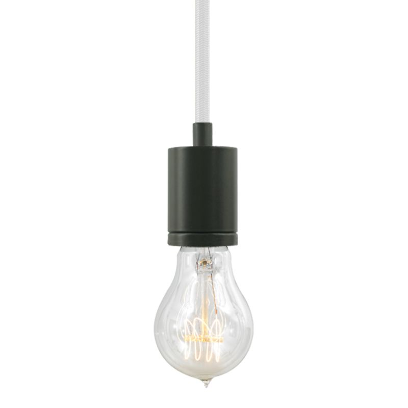 "Tech Lighting 700TDSOCOPM24Z SoCo 1 Light Mini Pendant with Bronze Sale $132.00 ITEM#: 2541688 MODEL# :700TDSOCOPM24WZ UPC#: 884655339063 The SoCo system of Sockets & Cords delivers choice, flexibility and the power of custom design. The SoCo sockets accommodates any 120 volt, medium base lamp up to 150 watts (not included). We have made it easy to create your own look. Mix, match and cluster to create a truly unique light sculpture or just install a few at a time to put light exactly where you need it. Available in 2 socket styles, 3 standard lengths, 7 cord colors, and 4 finishes. Ships with matching canopy. Consult factory for custom cord colors and lengths. We stock and make it easy to order some of the most popular lamps including several energy efficient LED and compact fluorescent options. Features: Antique Bronze Modern Socket 24 Foot Fabric Cord Includes Round 4"" Flush Canopy ETL Listed for Damp Locations Compatible with any Medium Base lamp up to 150 Watts (Sold Separately) Specifications: Bulb Base: Medium (E26) Bulb Included: No Canopy Width: 4 Cord Length: 288 Dimmable: Yes ETL Listed: Yes ETL Rating: Damp Location Height: 2.25 Light Direction: Down Lighting Location Rating: Damp Location Material: Metal Maximum Height: 288 Number of Bulbs: 1 Pendant Type: Mini Shade: No Sloped Ceiling Compatible: Yes Voltage: 120 Watts Per Bulb: 150 Width: 1.68 Not sure what you need for your space? Call us to help you configure a lighting system that suits your needs, including multi-light canopies, swag hooks, custom cord colors and lengths. :"