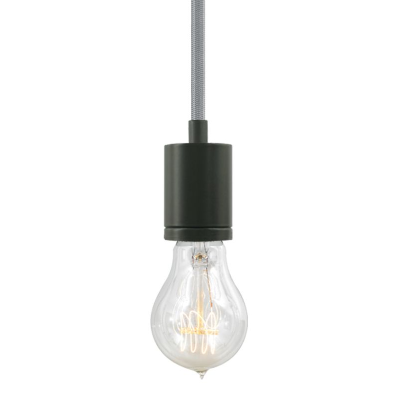 "Tech Lighting 700TDSOCOPM24Z SoCo 1 Light Mini Pendant with Bronze Sale $132.00 ITEM#: 2541692 MODEL# :700TDSOCOPM24YZ UPC#: 884655286138 The SoCo system of Sockets & Cords delivers choice, flexibility and the power of custom design. The SoCo sockets accommodates any 120 volt, medium base lamp up to 150 watts (not included). We have made it easy to create your own look. Mix, match and cluster to create a truly unique light sculpture or just install a few at a time to put light exactly where you need it. Available in 2 socket styles, 3 standard lengths, 7 cord colors, and 4 finishes. Ships with matching canopy. Consult factory for custom cord colors and lengths. We stock and make it easy to order some of the most popular lamps including several energy efficient LED and compact fluorescent options. Features: Antique Bronze Modern Socket 24 Foot Fabric Cord Includes Round 4"" Flush Canopy ETL Listed for Damp Locations Compatible with any Medium Base lamp up to 150 Watts (Sold Separately) Specifications: Bulb Base: Medium (E26) Bulb Included: No Canopy Width: 4 Cord Length: 288 Dimmable: Yes ETL Listed: Yes ETL Rating: Damp Location Height: 2.25 Light Direction: Down Lighting Location Rating: Damp Location Material: Metal Maximum Height: 288 Number of Bulbs: 1 Pendant Type: Mini Shade: No Sloped Ceiling Compatible: Yes Voltage: 120 Watts Per Bulb: 150 Width: 1.68 Not sure what you need for your space? Call us to help you configure a lighting system that suits your needs, including multi-light canopies, swag hooks, custom cord colors and lengths. :"