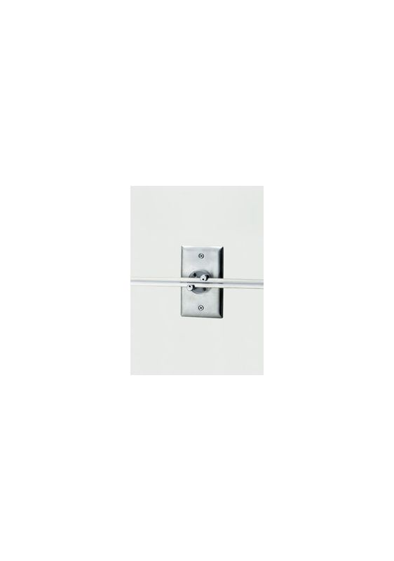 Tech Lighting 700WMOPRB Wall MonoRail Rectangular Single Power Feed