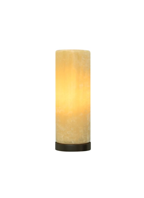 Tech Lighting 700WSCBOGH Cabo Grande Honey Onyx Cylinder Wall Sconce
