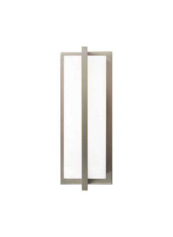 Tech Lighting 700WSCORW Coronado Rectangular White Glass Wall Washer
