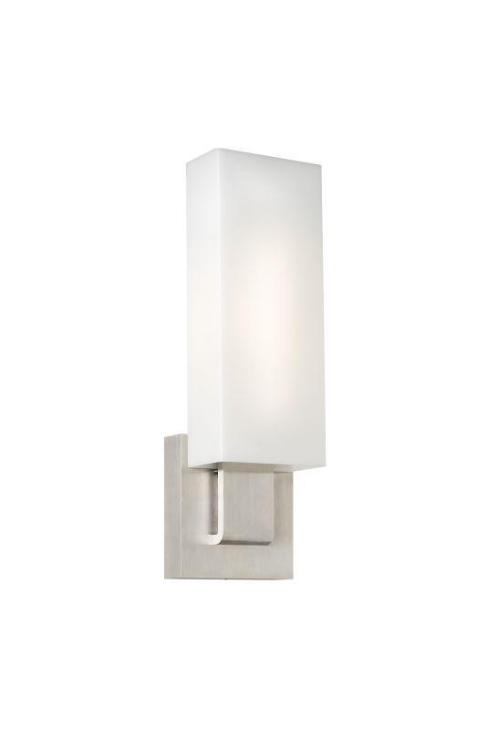 Tech Lighting 700WSKISWW Kisdon Rectangular White Glass Wall Washer