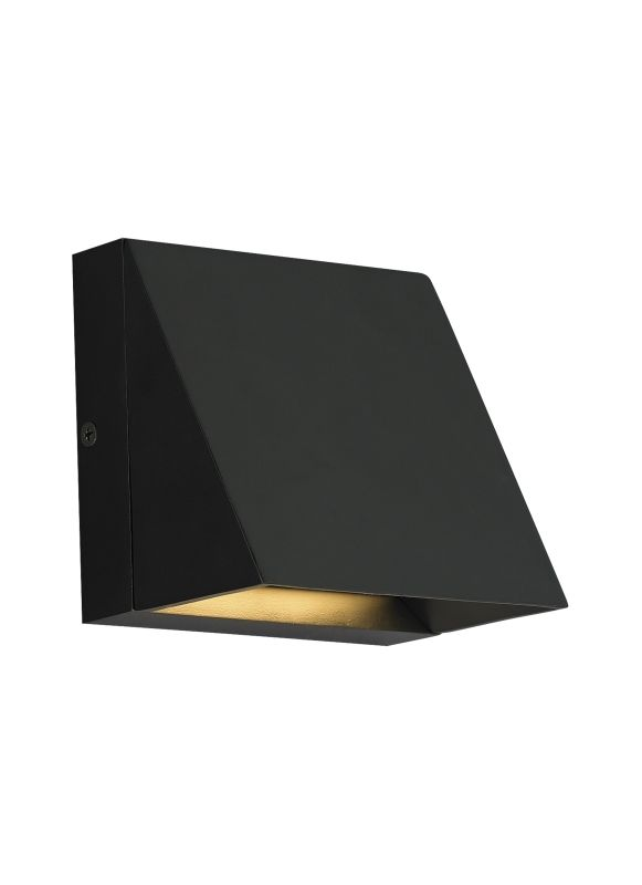 Tech Lighting 700WSPITS-LED830 1 Light LED Outdoor Wall Sconce Black