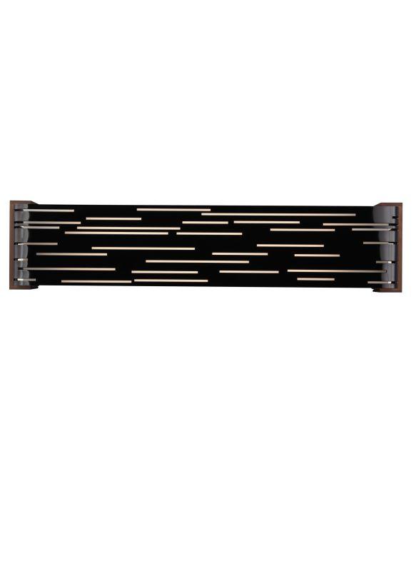 Tech Lighting 700WSRVLLB-LED Revel Linear 2 Light LED Gloss Black Bath Sale $183.00 ITEM#: 2304256 MODEL# :700WSRVLLBW-LED UPC#: 884655244916 :