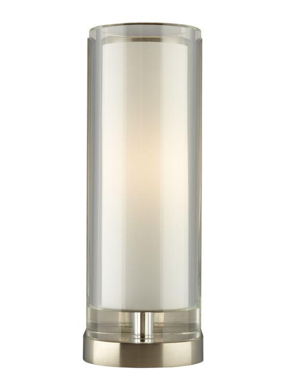 Tech Lighting 700WSSARC-CF Sara 1 Light Fluorescent Clear Crystal Wall