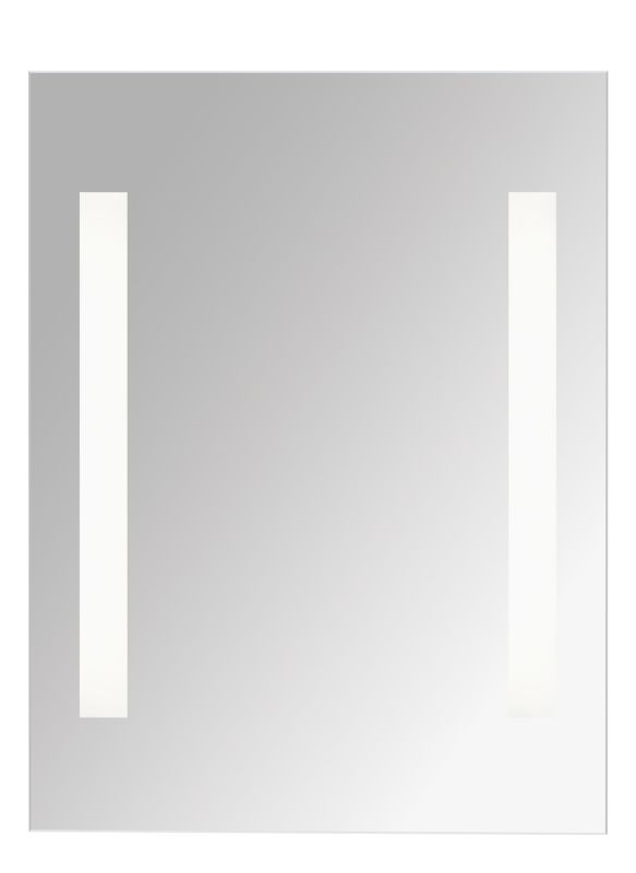"Tech Lighting 700VNRFL-CF 31.5"" Tall Lighted Reflection Mirror Satin"